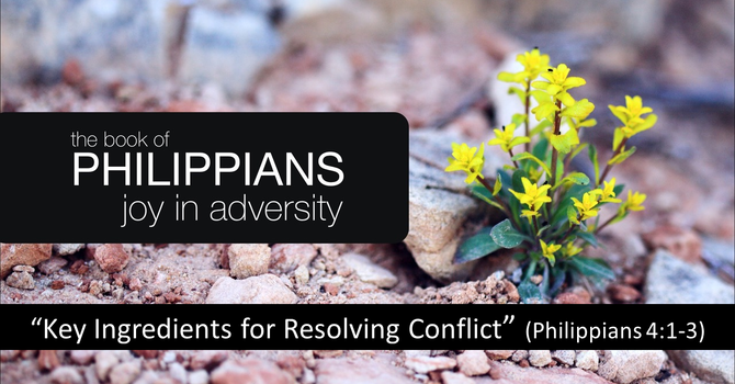 Key Ingredients for Resolving Conflict