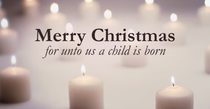 Christmas Day 9:30am Service