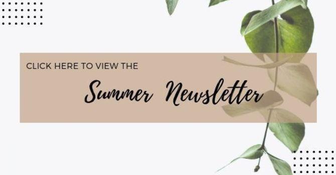 Summer Newsletter  image