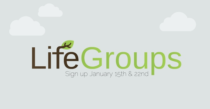 Life Groups Sign up image