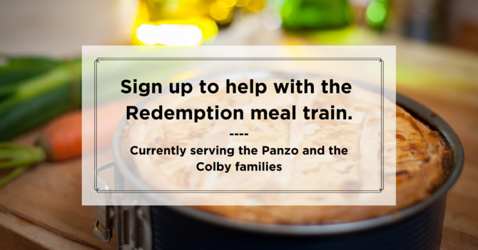 Join the Redemption Church Meal Train image
