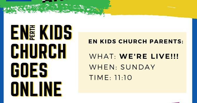 Kids Church is Online image