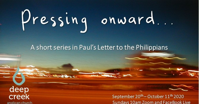 Philippians: Pressing On