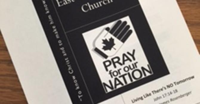 July 2, 2017 Church Bulletin image