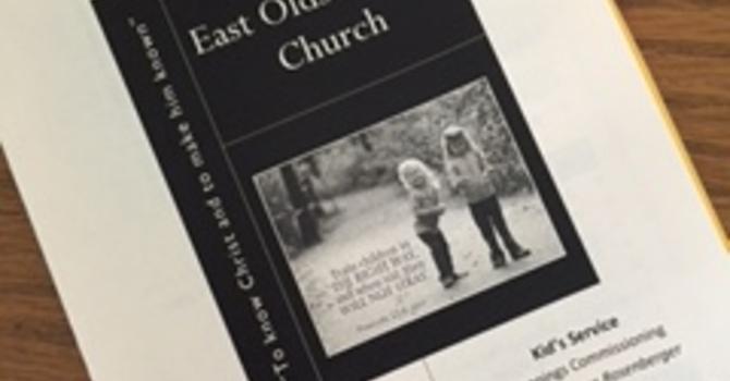 June 25, 2017 Church Bulletin image