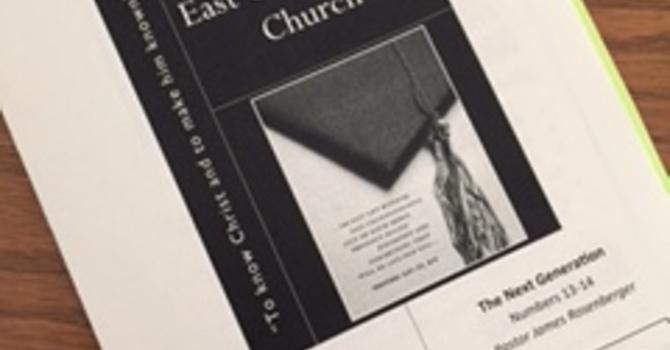 June 11, 2017 Church Bulletin image