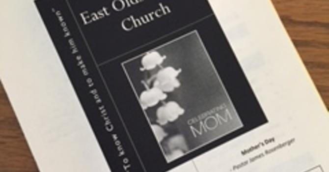 May 14, 2017 Church Bulletin image