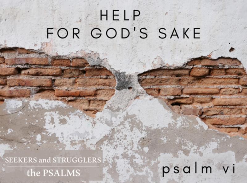 HELP FOR GOD'S SAKE