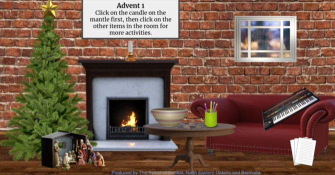 Advent Virtual Living Rooms