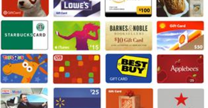 Shopping Cards Available image