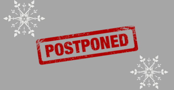 AGM Postponed! image