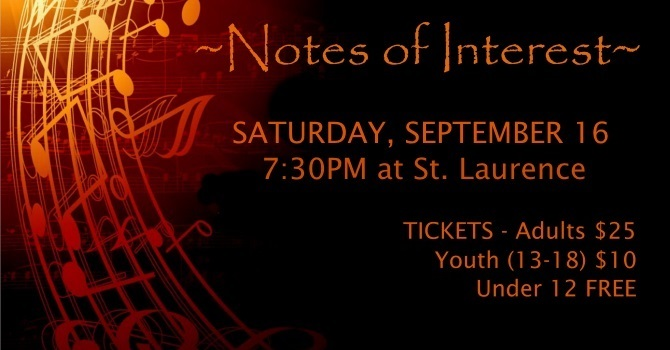 Notes of Interest - A Choral Concert