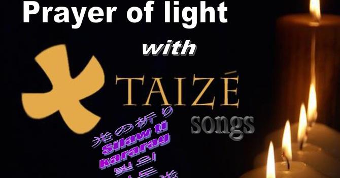 ACAM Advent Taize prayer service