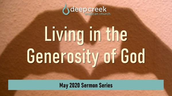 Living in the Generosity of God