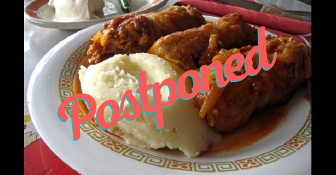 Postponed: Drive Thru Cabbage Rolls image