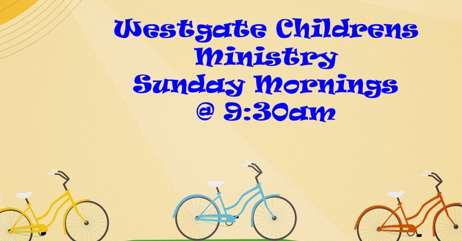 Onsite kids' church at 9:30 service