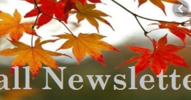 Fall Newsletters image