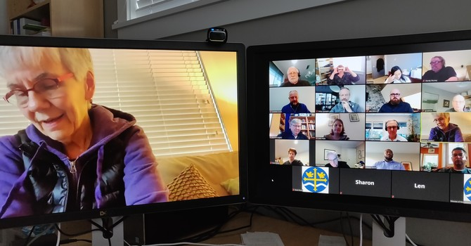 The First Virtual Meeting of Diocesan Council  image
