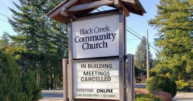 No meetings at church