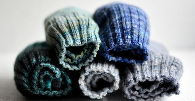 Sock Donations for Christmas image