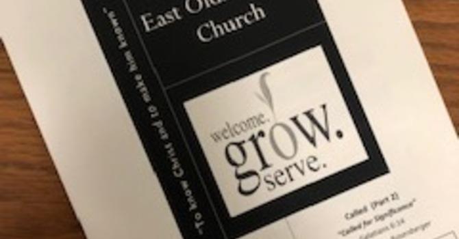 September 15, 2019 Church Bulletin image