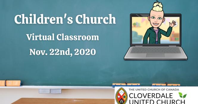 Children's Church This Week!