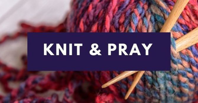 Prayer Shawls Knit and Blessed image