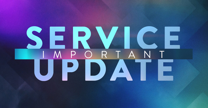 Church Services Update image
