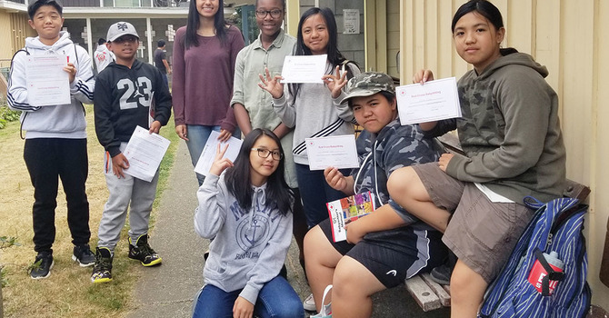 Summer Training for Young People at St. Mary's, Sapperton image