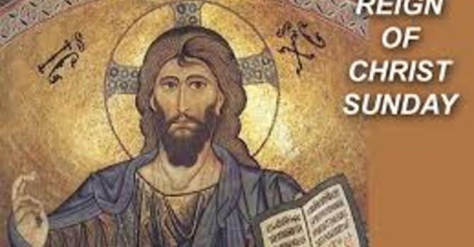 Livestream Service November 22nd The Reign of Christ image