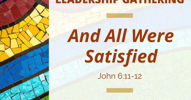 Register Now - ELCA World Hunger Leadership Gathering image