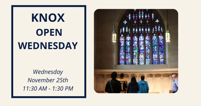 Knox Open Wednesday