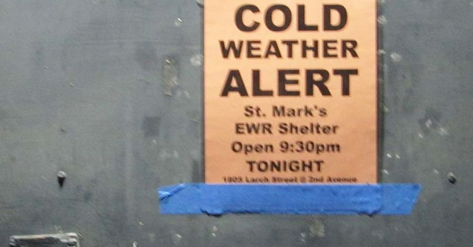 St. Mark's Extreme Weather Shelter image