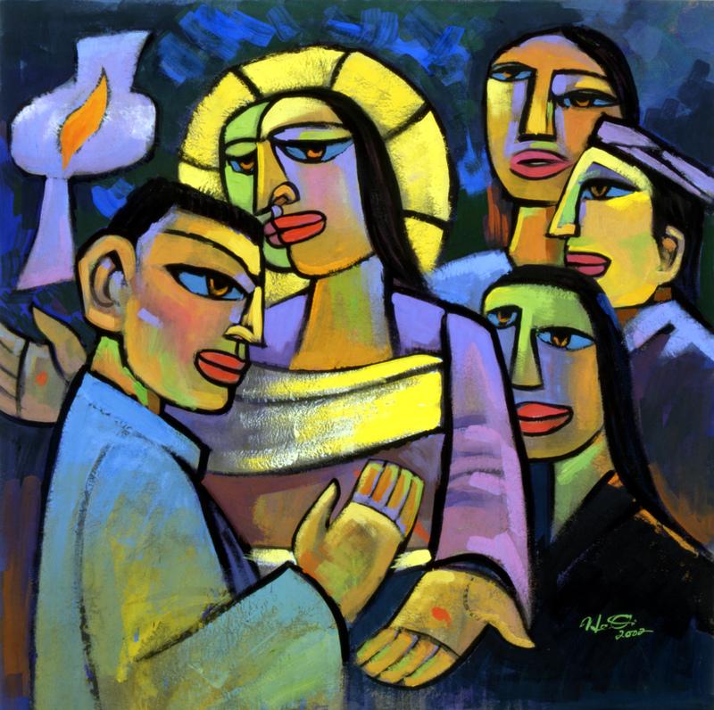 触摸基督的伤痕    Touching The Wounds of Christ