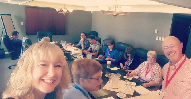 Committees of GS meet image
