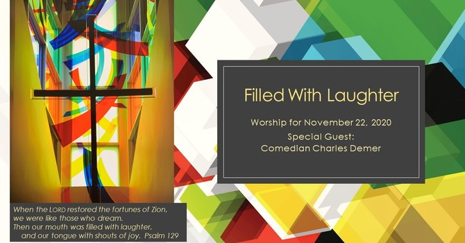 FILLED WITH LAUGHTER - Preacher Charles Demers image