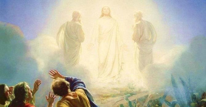 Exodus 24:12-18 and Matthew 17:1-9 image
