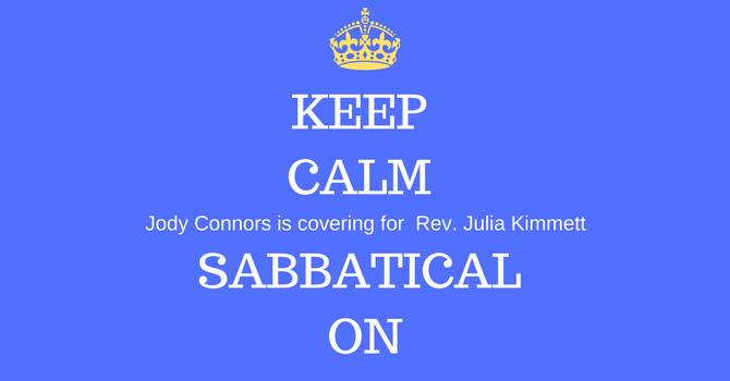 Sabbatical Leave image