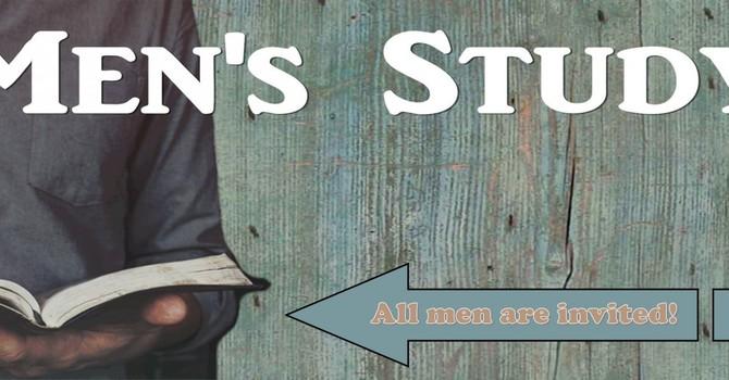 Men's Study  image