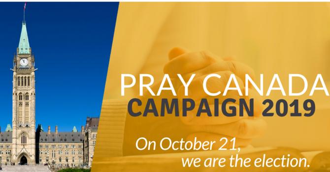 Pray Canada Campaign 2019 image