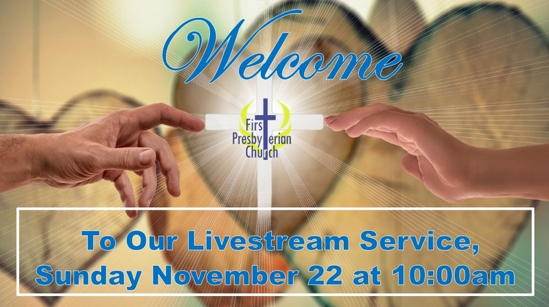 Sunday November 22 Livestream Service