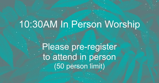 10:30AM Worship