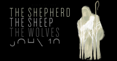 Shepherd Sheep & Wolves