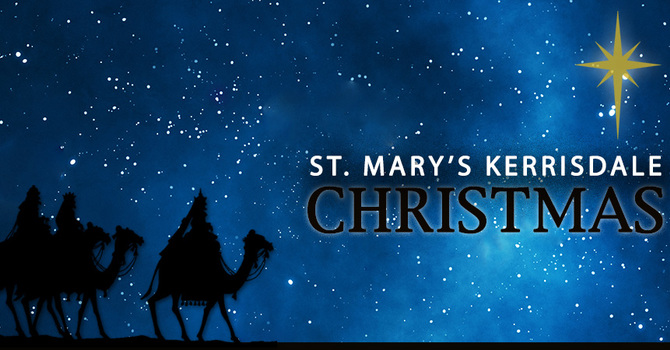 Christmas Services at St. Mary's Kerrisdale