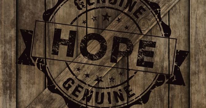 Putting Hope Where it Belongs