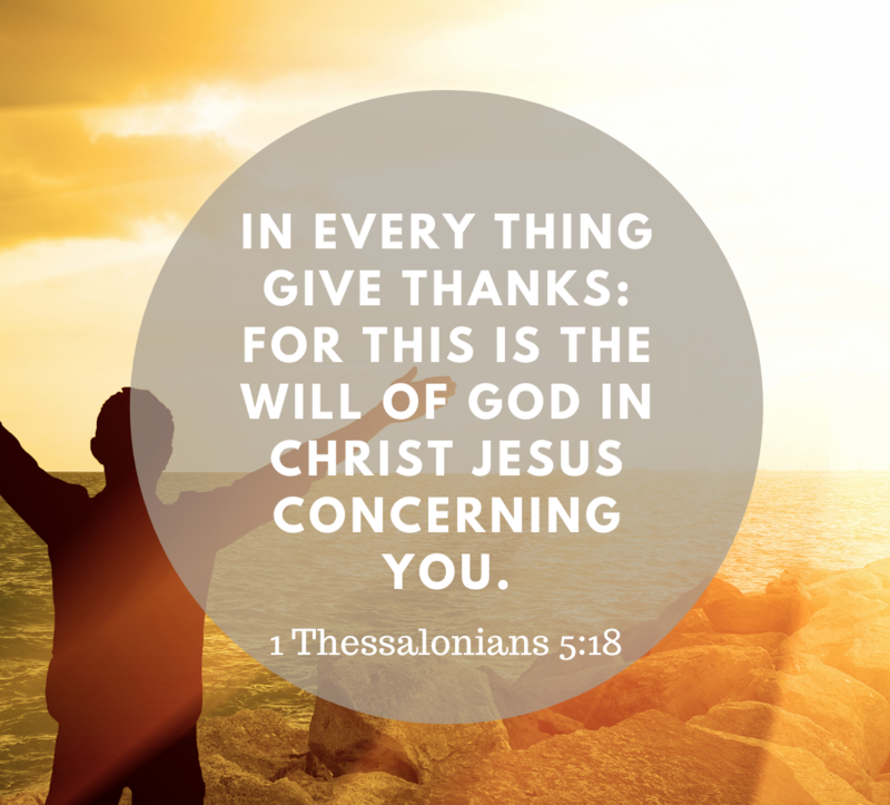 Made Acceptable By Giving Thanks