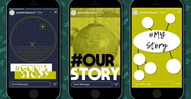 God's Story. Our Story. My Story. image