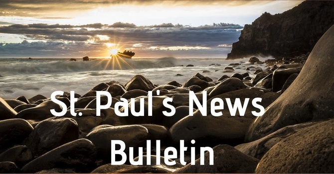 St. Paul's February 24th  News Bulletin image