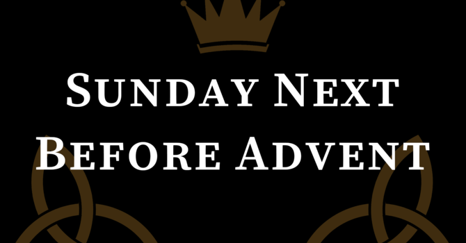 Sunday Next Before Advent