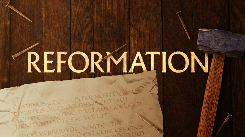 Reformation #4.  Sin Boldly!
